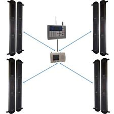 Wireless GSM Perimeter Alarm System with 4 sets of 3B Beams & GSM H/D Dialler