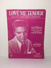 Elvis Presley Love Me Tender 1956 Sheet Music RARE!