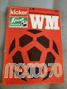 Kicker Sonderheft Fussball-WM 1970 in Mexiko/Mexico