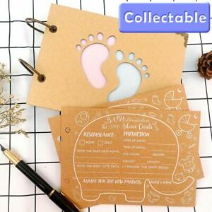 Baby Shower Games Prediction & Advice Cards Baby Boy or Girl New Mum To Be