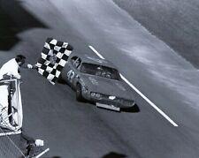 RICHARD PETTY HAND SIGNED 8x10 PHOTO+COA       NASCAR LEGEND      CHECKERED FLAG