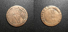Napoléon Ier - 10 centimes à l'N couronné 1808 BB, Strasbourg - F.130/4