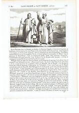 """1825 """"Saint Philippe et Saint Jacques Apotres"""" du Christ Sa Filippo S. Giacomo"""
