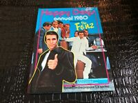 1980 HAPPY DAYS ANNUAL -  hard cover book ( NOS ) comic strip type book FONZ