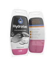 Hydrotac OPTX20/20 Stick-On Reusable Bifocal Lenses - +2.50 Diopter