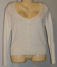 Rampage Cardigan Sweater Size Medium New with Tags Ivory Washable Stretch