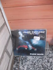 Music Instructor feat. Flying Steps: Super Sonic, eine Maxi CD
