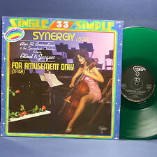 "MAXI 12"" ALEC R COSTANDINOS Synergy Feat ALIROL & JACQUET 310808 GREEN VINYL"