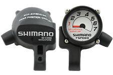 SHIMANO MEGARANGE CI-DECK 7 velocità ID-C050 MANUBRIO Dial Display ORIGINALE NOS