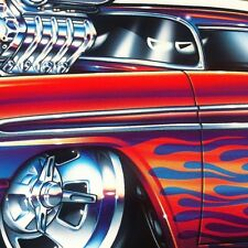 """Wild 56"" 1956 Chevy New Embossed METAL ""Garage Decor"" Sign"