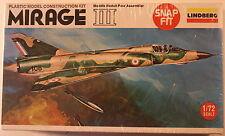 France Dassault Mirage III 1/72  Airplane Model Kit