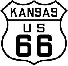 Premium auto pegatinas Route 66 EE. UU. kansas sticker pegatinas auto styling Tuning