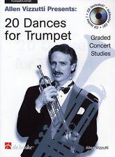 20 Dances for Trumpet (Book/CD) Allen Vizzutti - Same Day P+P