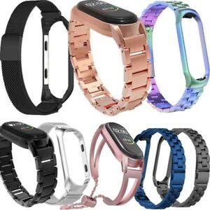 Edelstahl Milanese Uhrenarmband für Xiaomi Mi 3 4 Strap Band Smart Gurt Bracelet