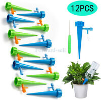 12PCS Watering Spikes Device Automatic Plants Self Water Drip Irrigation System