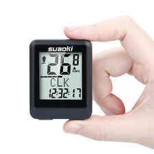 Suaoki Wireless Bicycle Computer Speedometer Backlit Screen Speed Time Calories