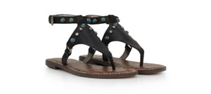 Sam Edelman Galena Black Ankle Strap Sandal Women's sizes 5-11/ NEW!!
