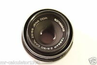TESSAR 2.8 50mm CARL ZEISS JENA DDR 10788842 LENS