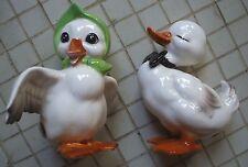 "Josef Originals / George Good Japan Pair ""Mama"" & ""Papa"" Ducks"