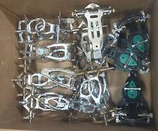Lot Of Aprox 16 Dental Articulators Plus Assorted Pliers Scissors And Parts