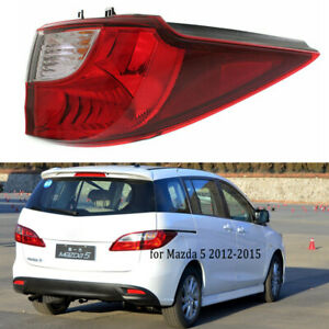 Rear Tail Light For Mazda 5 2012-2015 Right Passenger Outer Brake Lamp Assembly