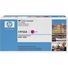 HP C9733A Magenta 5500  Genuine Toner Cartridge NEW