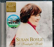 Susan Boyle A Wonderful World CD NEW Nat King Cole Michael Bolton