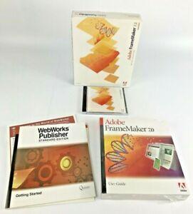 Adobe Frame Maker 7.2 for Windows Education