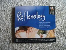 Reflexology CD Mind Body Soul Series Relax Music w Full Color Guide FREE SHIP