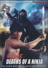 Nine Deaths Of A Ninja - Hong Kong Kung Fu Martial Arts Action movie DVD NEW