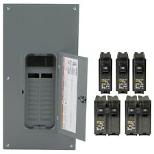 Square D Main Breaker Panel Electrical 40 Circuit 200 Amp Load Center 20 Space
