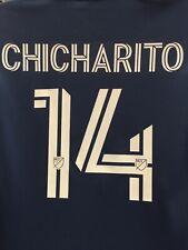 Adidas LA Galaxy Chicharito 14Training Top Navy White LS 20/21 Size L Men's Only
