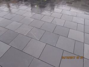 Black-Cupric Slate Paving Patio Slabs ✔ 5m2 400x400mm 15to20mm Thick FREE DEL✔