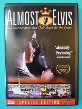 Almost Elvis (DVD*Winner Best Documentary)  *VERY RARE*OOP*HTF*