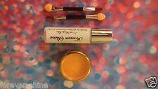 Orange Lip & eye glitter make up set inc. glitter, brush & glue