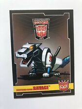 BotCon 2011 Trading Card Shattered Glass Ravage CHASE - VERY Rare!