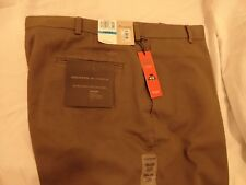DOCKERS PREMIUM FLAT FRONT RELAXED FIT NEVER IRON MEN'S PANTS-GREEN(36 x 29) NWT