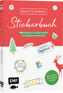 Bullet Journal * Stickerbuch * Merry Christmas * Edition Michael Fischer