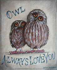 Paintings/Posters/Prints Owl Collectables