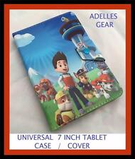 KIDS OR CHILDRENS UNIVERSAL 7 INCH TABLET COVER CASE -PAW PATROL DESIGN