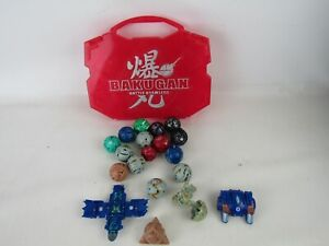 Bakugan Battle Brawlers Figurines Only Set 19 Comes In Red Case