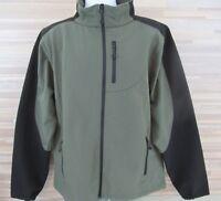 Black Diamond Men's Jacket Soft Shell Stretch Full Zip Outdoor XL Olive Black