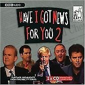 BBC Audiobook - Have I Got News for You, Vol. 2 (2004) 2 x CD {CD Album}