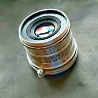 Rare Lens Industar I-26m 2.8 / 52 USSR For Macro Shooting On SLR vintage Cameras