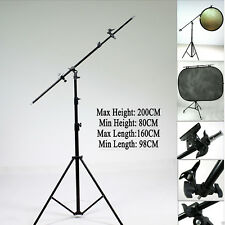 PRO REFLECTOR HOLDER BOOM ARM BRACKET STUDIO CLAMP BACKGROUND HOLDER EASY SETUP