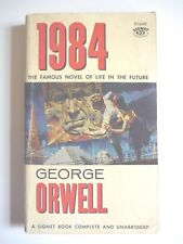 1984 by GEORGE ORWELL 1960 FIRST EDITION VINTAGE SIGNET PAPERBACK SCI-FI CLASSIC