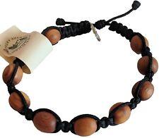 Catholic Black Olive Wood Prayer Bracelet From Medjugorje Our Lady Jesus meda