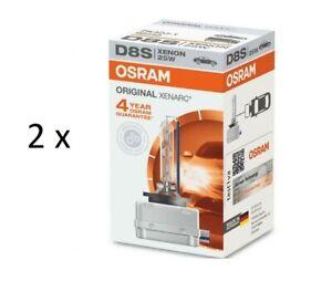 Twin Pack Osram Xenarc D8S 66548 12V 25W Car Base PK32d-1 HID Xenon Headlight