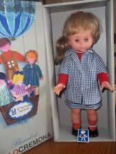 Vintage Italo Cremona Doll Made in Italy Marked 1966 IC With Original Box & Tag