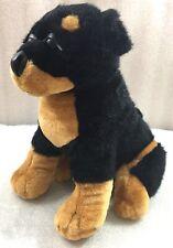"""Rottweiler Puppy Dog 11""""H plush by Goffa"""